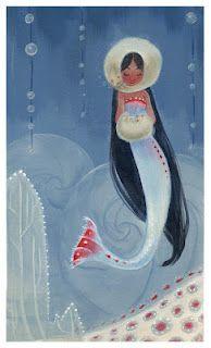 winter mermaid / Casey Robin Neal