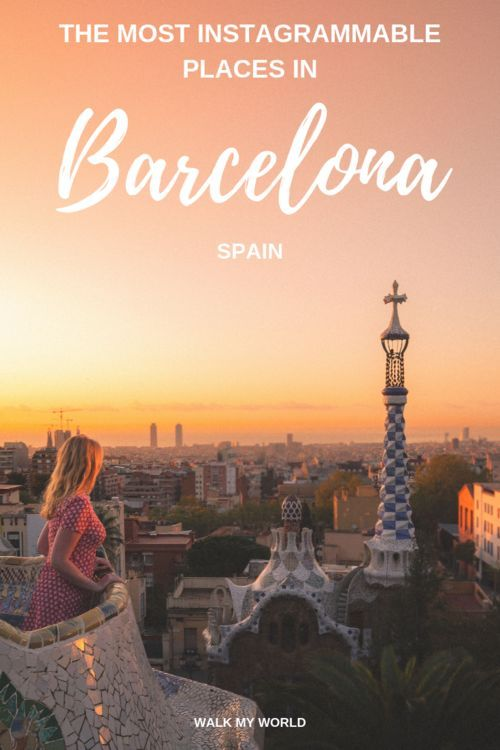 The top Barcelona Instagram spots you can visit in just two days