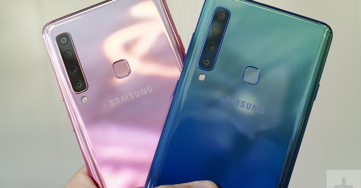 Black hole in the screen of Samsung's new Galaxy A8s has a camera inside