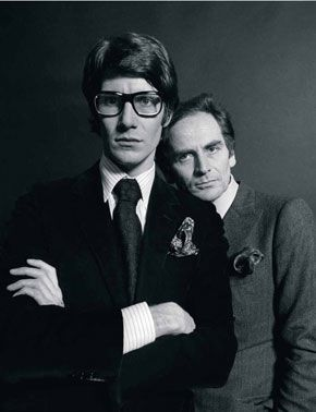 6ec33c49f3c Pierre Bergé & Yves Saint Laurent in 2019 | THEY MAKE THE SHOES WE ...
