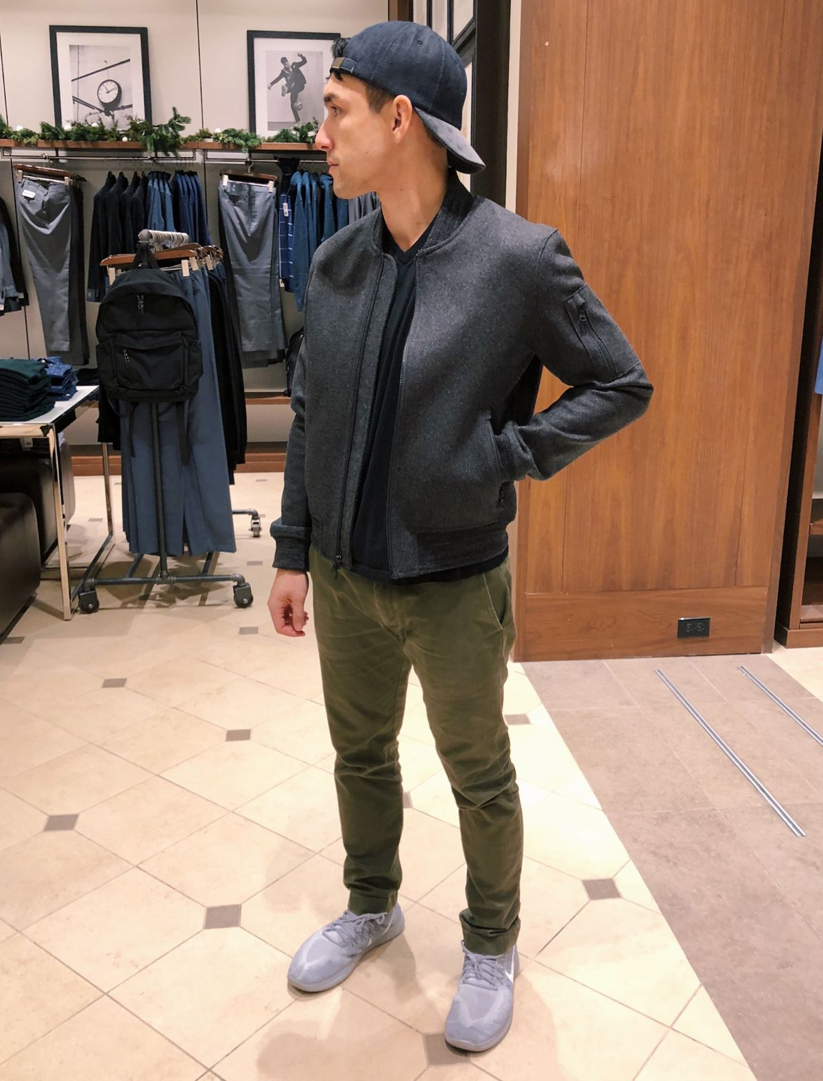 Nick's Coat and Jacket Gift Guide for men Wool bomber