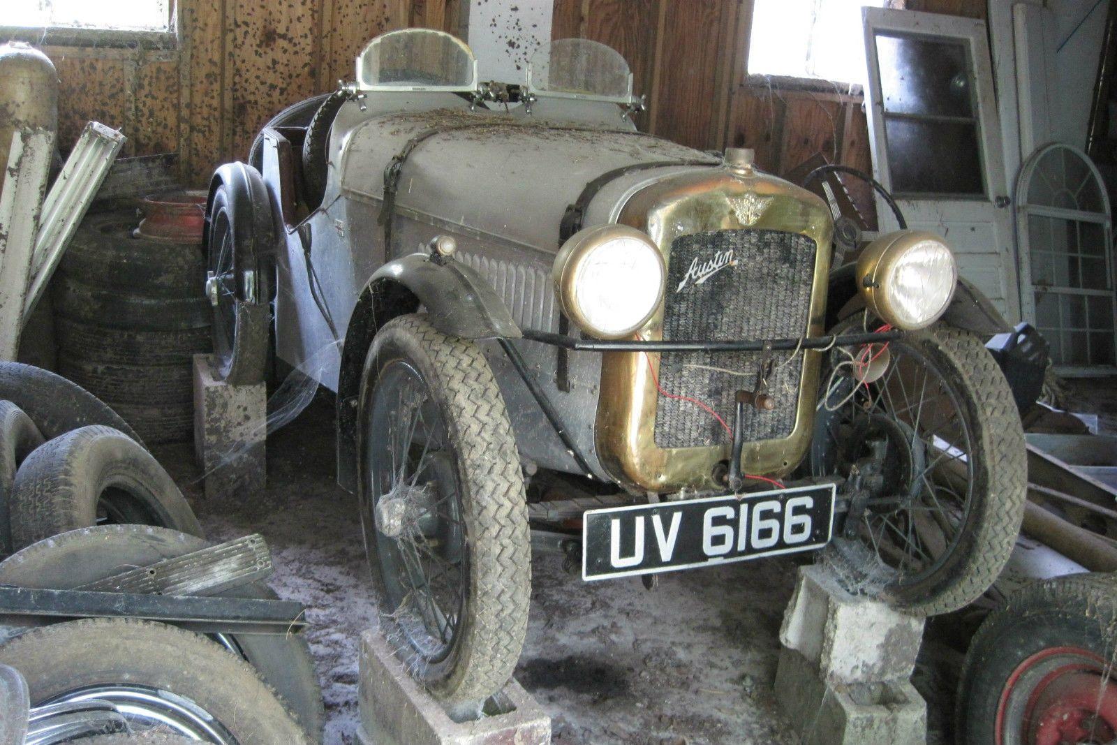 Barn Find 1929 Austin Seven Cambridge Sports Special | alte Autos ...