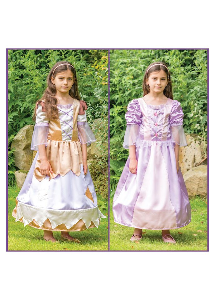 NEW Reversible Cinderella Rags to Riches Disney Fancy Dress Costume for Girls