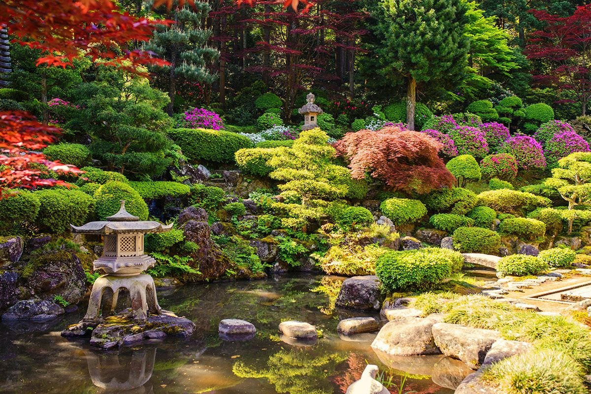 Japanese Zen Gardens (With images)   Japanese garden, Zen ...