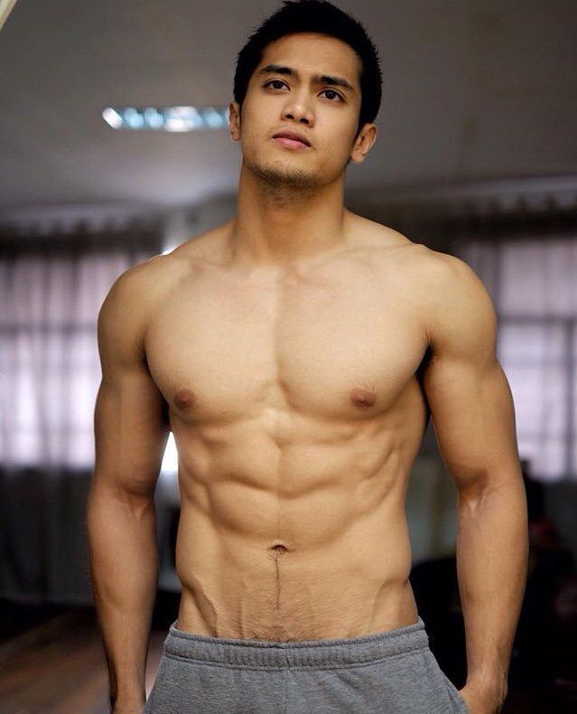 muscle hunks Filipino men