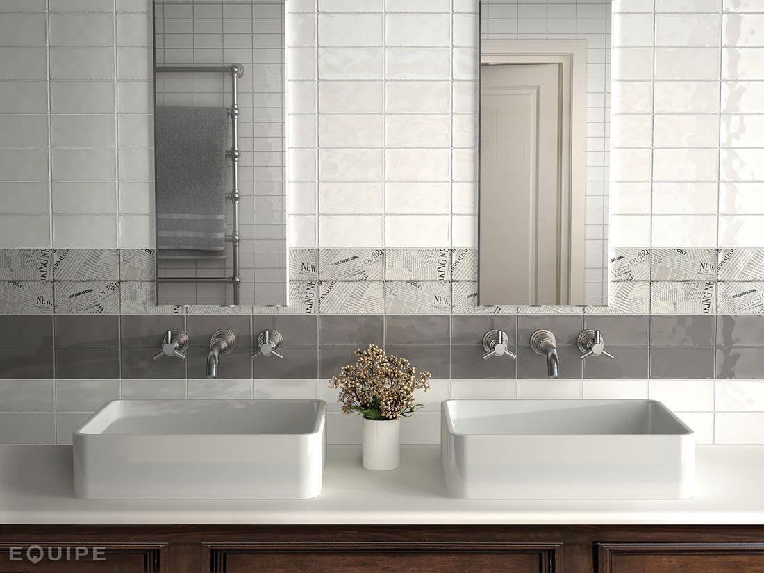 Azulejo Baño blanco y decorados | Azulejo Semimanual cocinas y ...