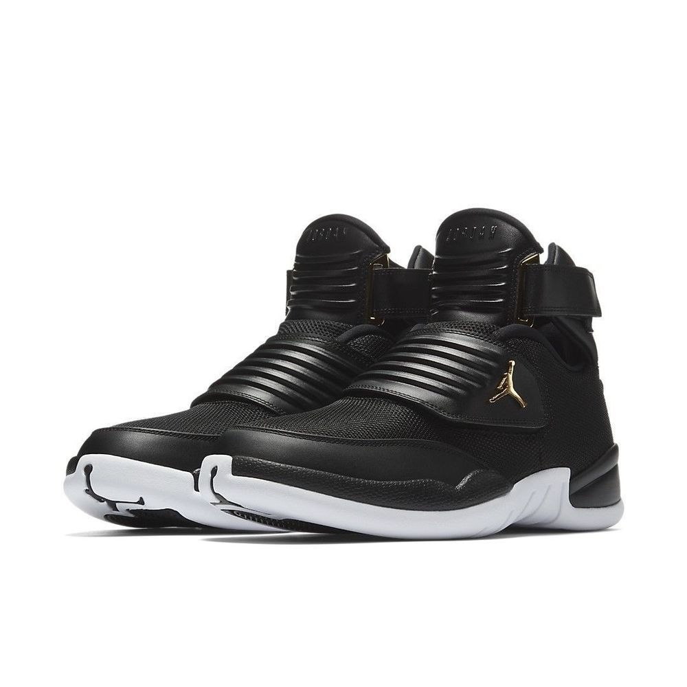 Jordan Generation 23 Mens Basketball Shoes Black White Gold  Jordan   BasketballShoes f9dc262fc