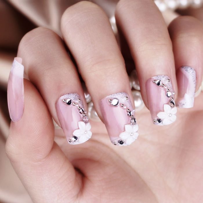 Nails Inspiration | 15 Gorgeous Wedding Nail Art Pictures and Ideas ...