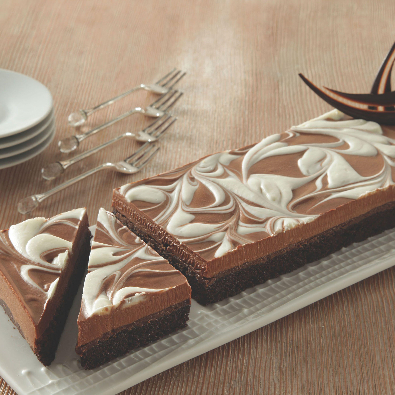 Peruvian Swirl Cacao Bande with moist, dark chocolate cake and ...