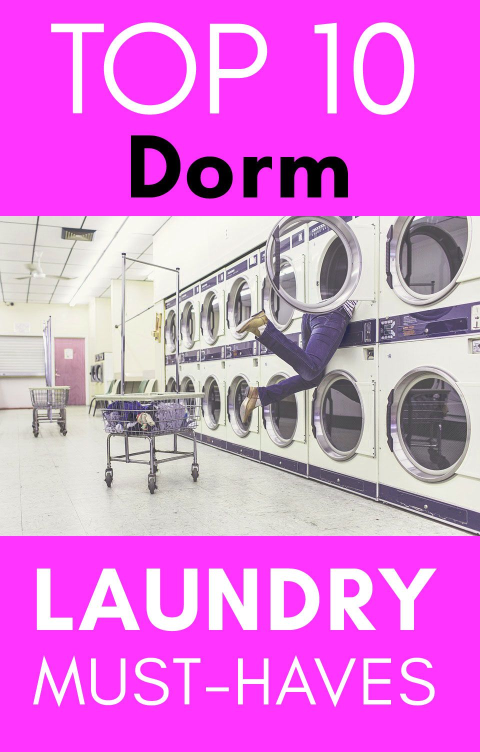 Dorm Laundry Top 10 List Of Must Have Items Videos Hacks Limpieza