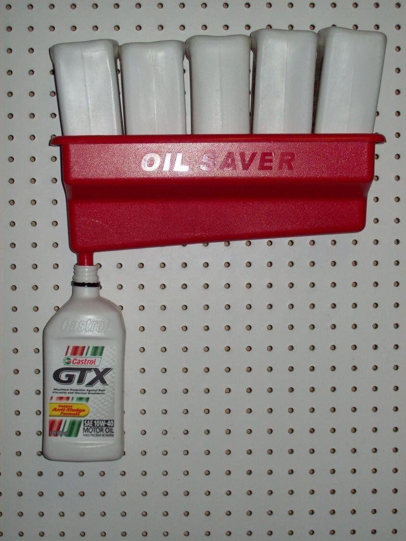 Oil Saver Bottle Drain Red Automotive