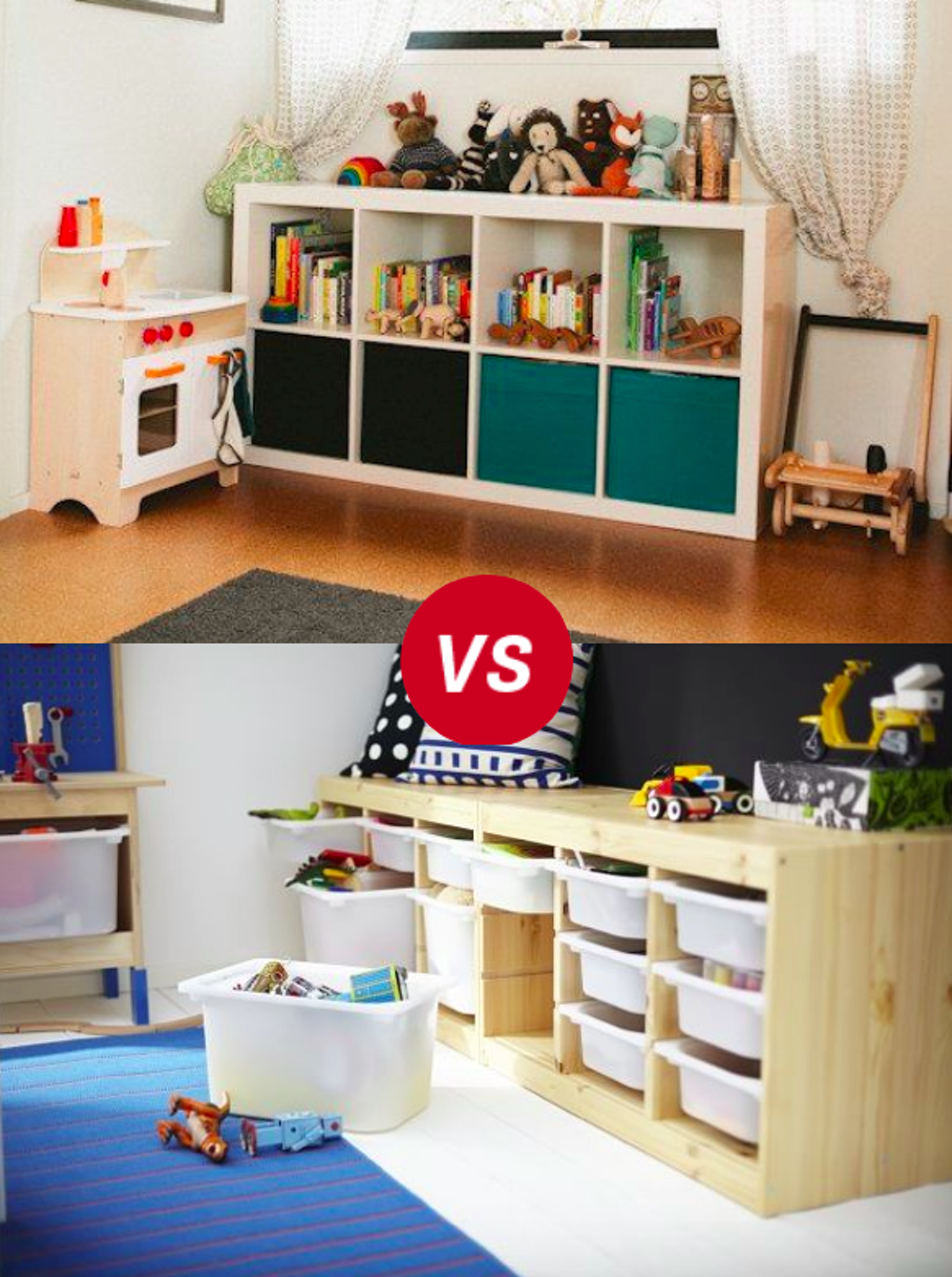 Kids Room Throwdown Trofast Vs Kallaxexpedit