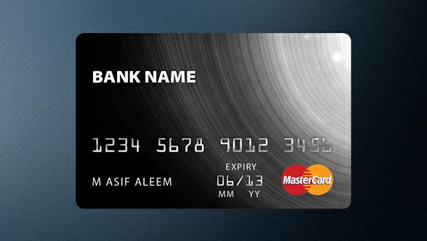 Credit Card Template (PSD Credit card design, Free