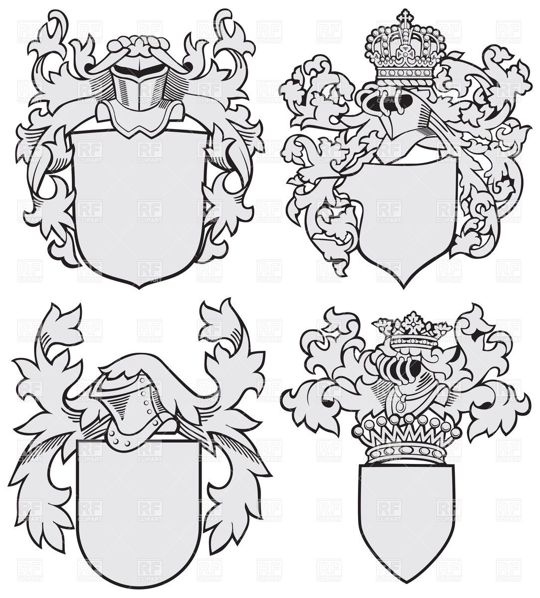 Coat Of Arms Template Lion | Coat of Arms | Pinterest | Arms, Lions ...