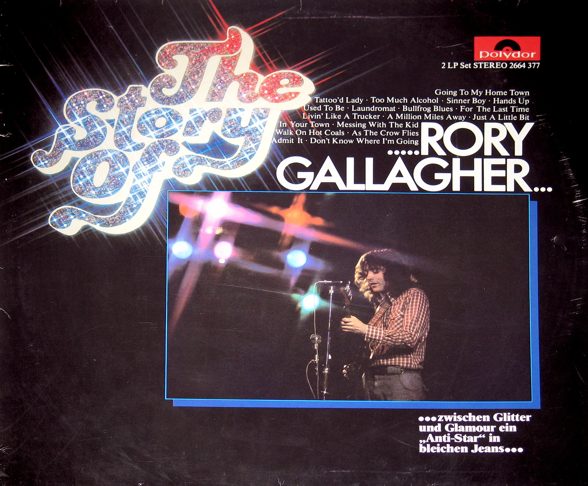 Rory Gallagher The Story Of Rory Gallagher 12 Vinyl Lp Rory Gallagher Rory Story