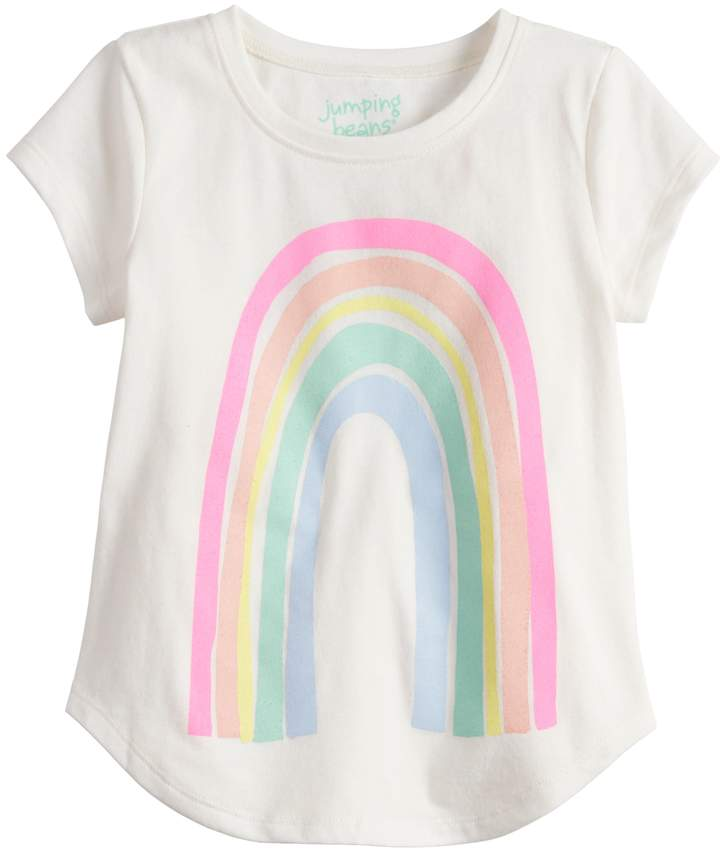 3427ad75e Toddler Girl Jumping Beans® Rainbow Graphic Tee in 2019 | Kaia's ...