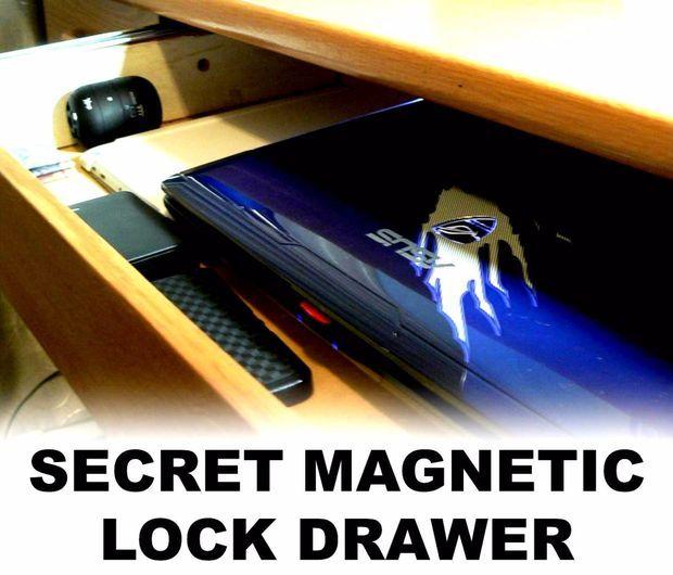 Secret Magnetic Lock Drawer Pictures Of Magnetic Lock