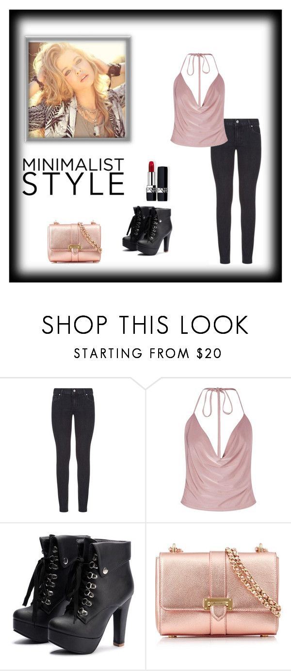 """Untitled #151"" by frostwolf1864 ❤ liked on Polyvore featuring Paige Denim, Boohoo, Aspinal of London and Christian Dior"