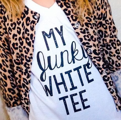 Kids My Junky White Tee – Royal Bowtique #royalbowtique @TheRBShop