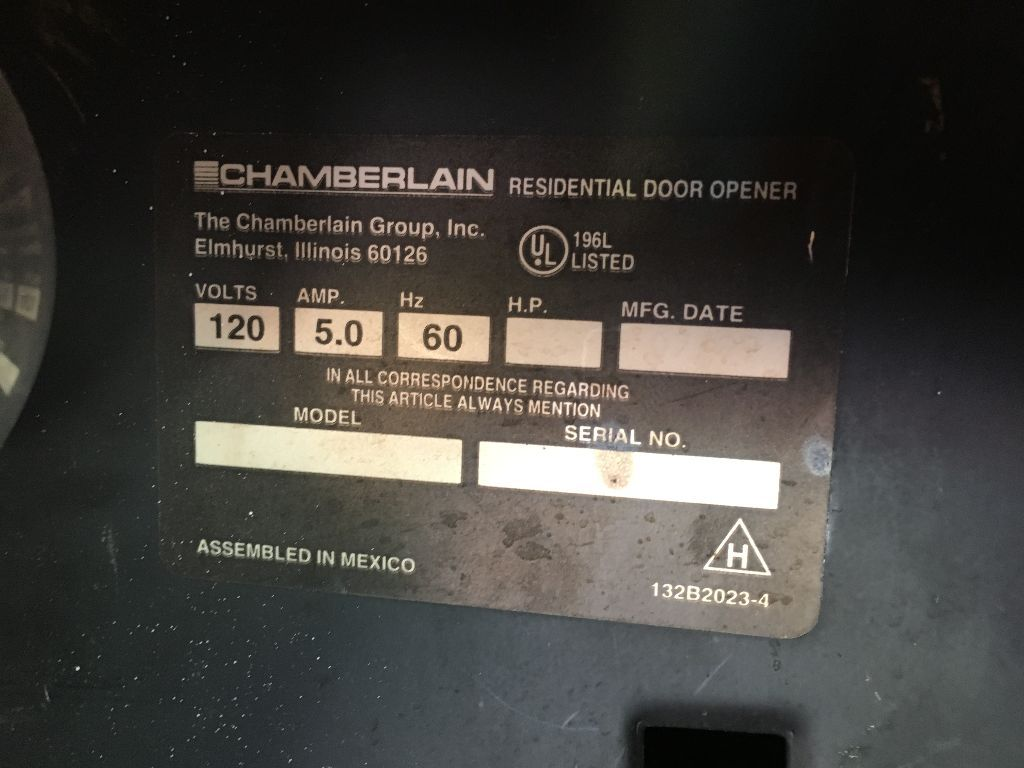 Chamberlain Residential Door Opener Residential Doors Door Opener Residential