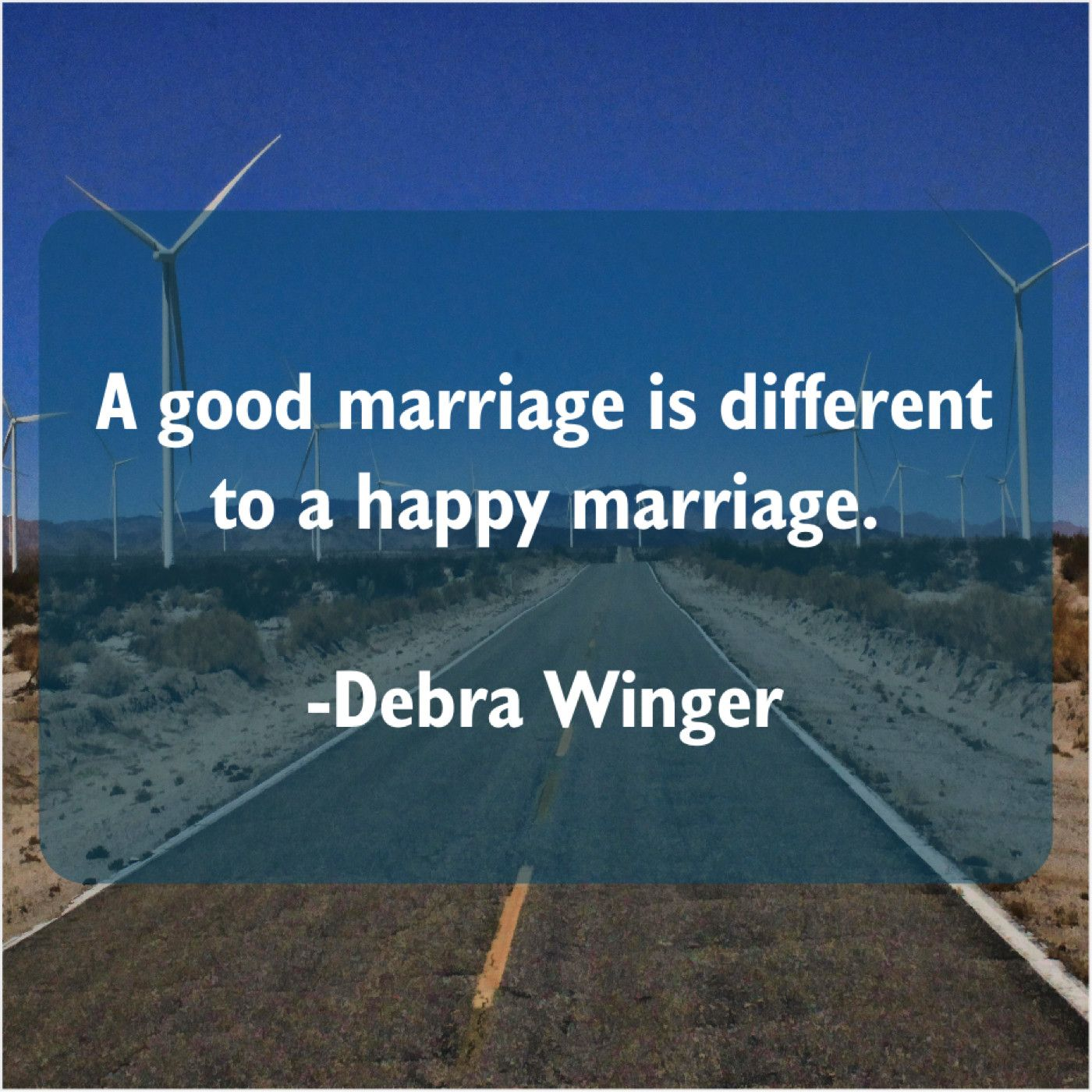 Debra Winger A Good Marriage Is Different Fun Things To Do Good Marriage Pam Bondi