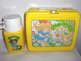 Cabbage Patch Kids Lunchbox Thermos 1983 Cabbage Patch Kids My Childhood Memories Childhood Memories