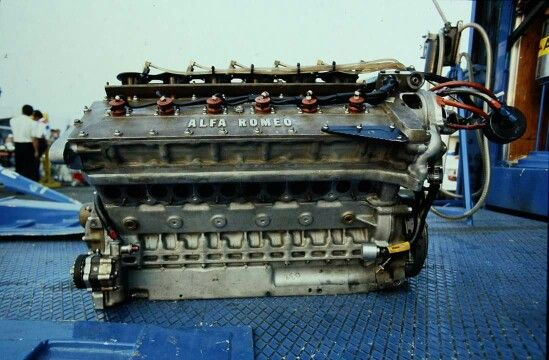 Alfa Romeo V12 F1 Engine Alfa Romeo Race Engines Engineering