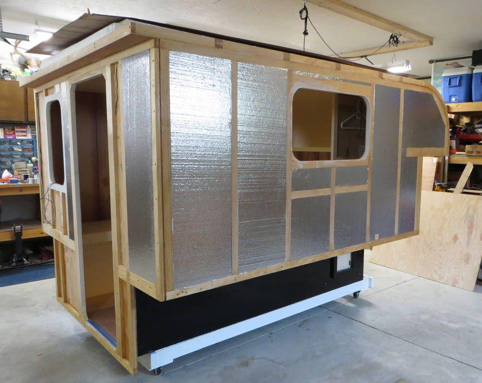 Build Your Own Camper Or Trailer Glen L Rv Plans Build A Camper Mini Camper Pickup Camper