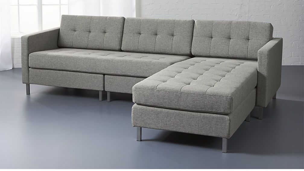 ditto II grey sectional sofa | living room | Grey sectional ...