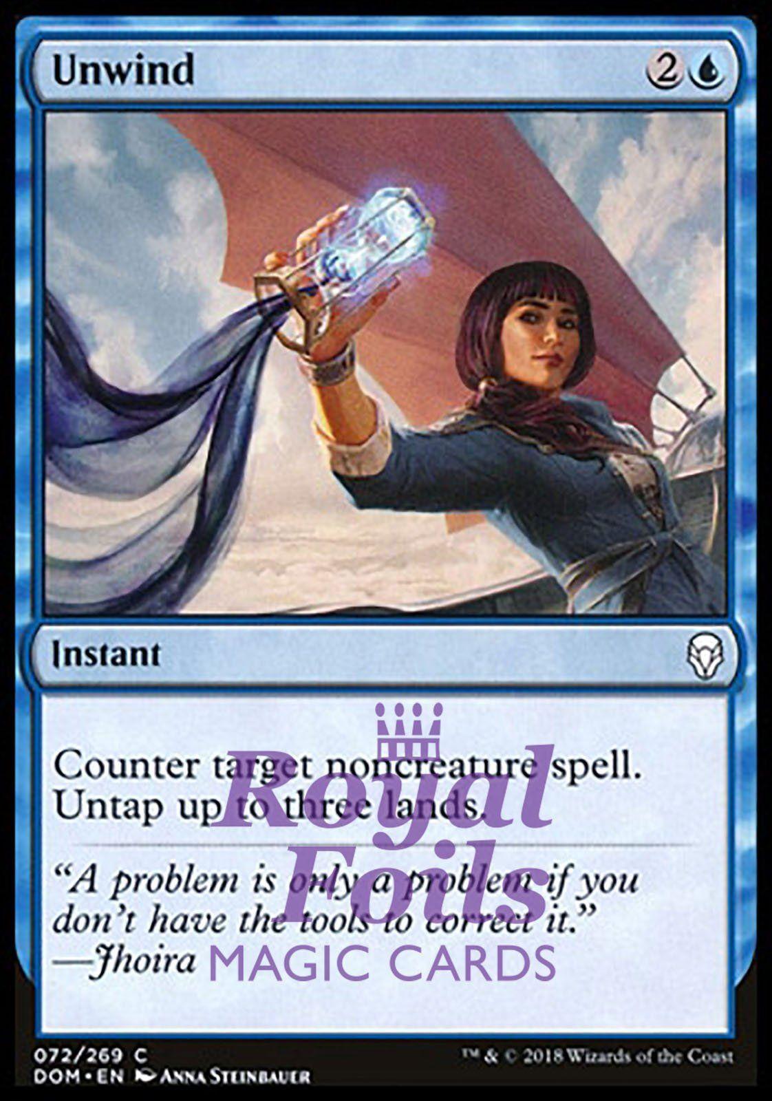 mtg STANDARD BLUE DECK Magic the Gathering rares 60 cards tempest djinn opt