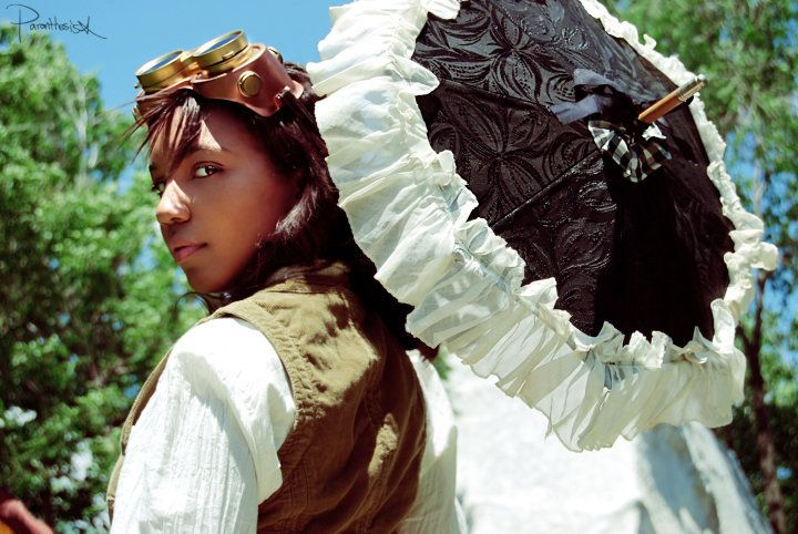 Steampunk Madame Morrington II by *NivatimaDimentia