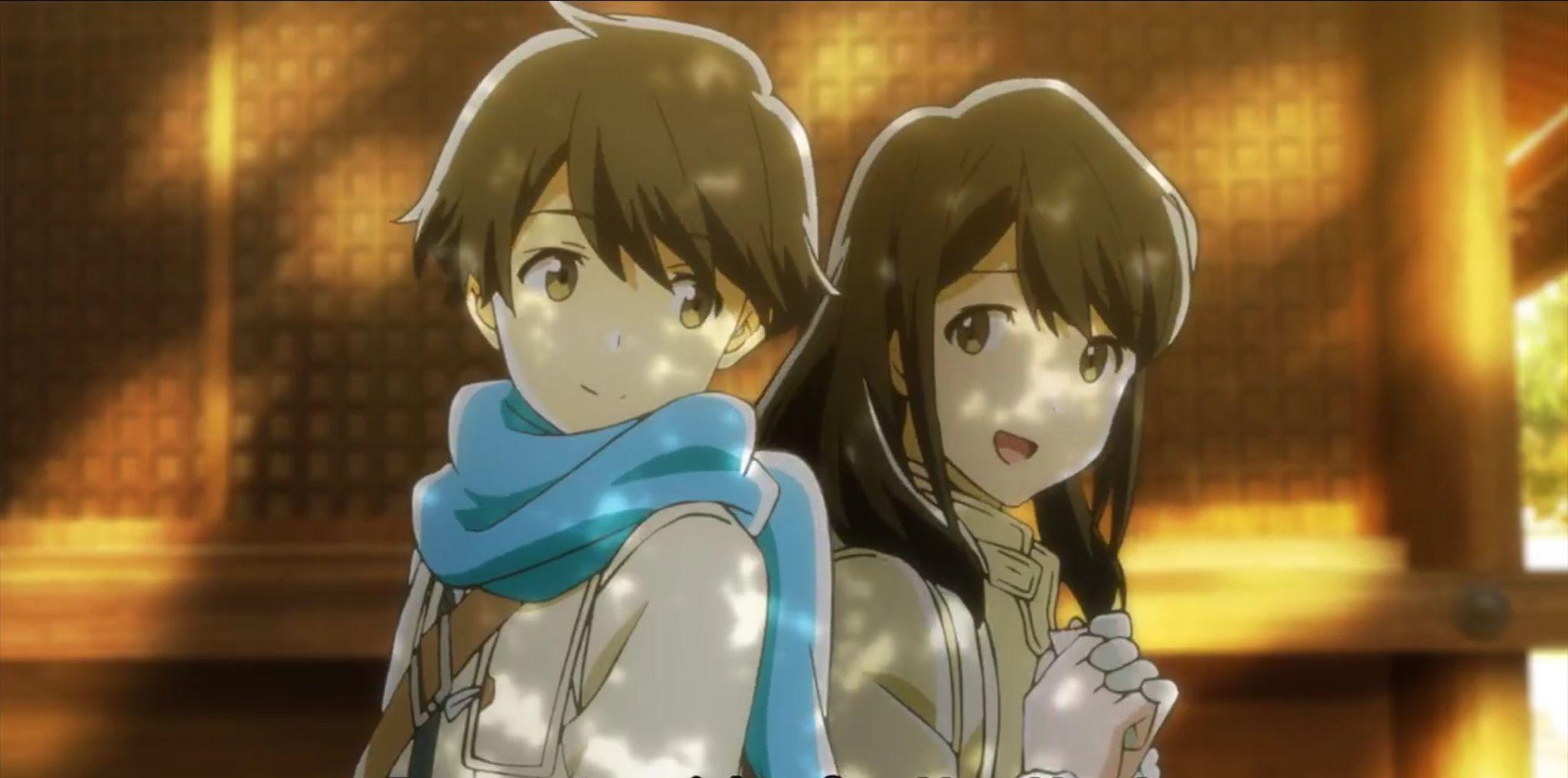 Anime tsuki ga kirei Animasi