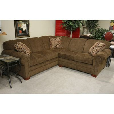 Best Monroe Two Piece Sectional Bernie And Phyls Sectional 400 x 300