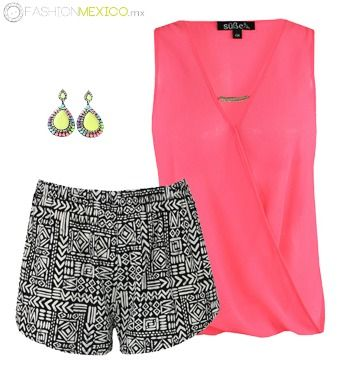 SUPER REBAJAS DE VERANO EN www.FashionMexico.mx  #Blusa de $189 a $151 http://bit.ly/1JCva6Q  #Short de $159 a $127 http://bit.ly/1D9GiCb #Aretes $119 http://bit.ly/1bk5Q9i