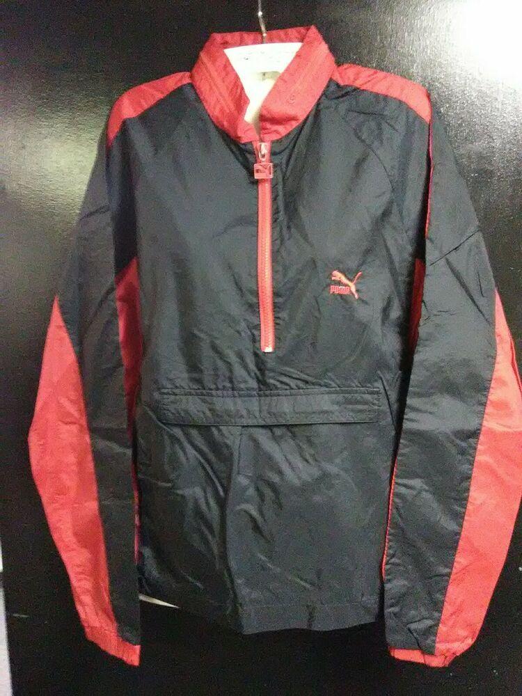 f2dcee3eb PUMA Vintage (Red White) Track Jacket Light Windbreaker  PUMA  Windbreaker