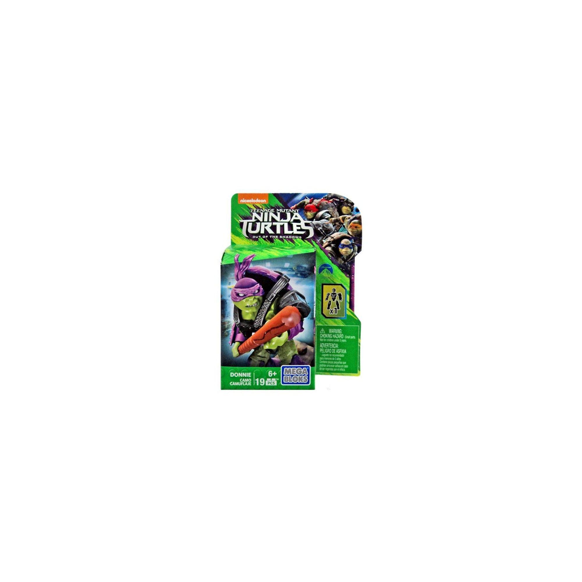Camo Teenage Mutant Ninja Turtles Out of the Shadows Donnie Set DPW18