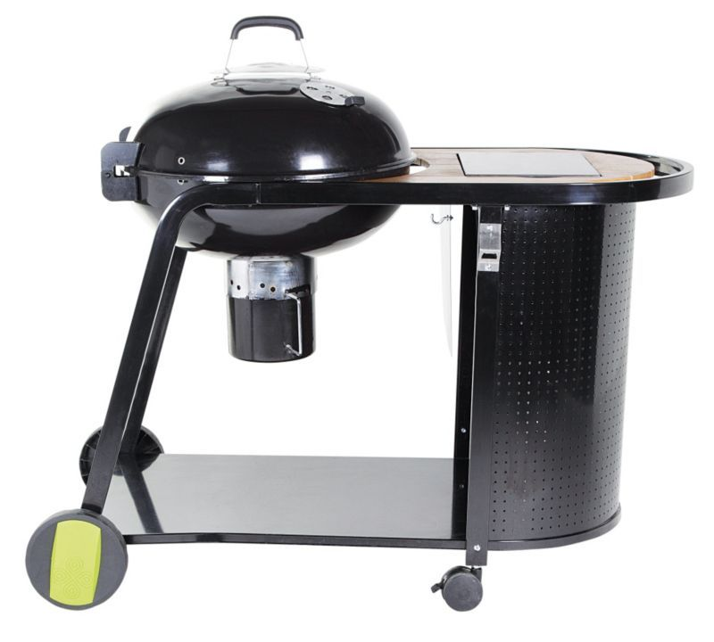 Kinley Kettle Charcoal Trolley Barbecue 5052931264674