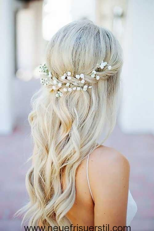 8 Die Halfte Bis Frisuren Hochzeitsfrisuren Frisur Hochzeit Haare Hochzeit