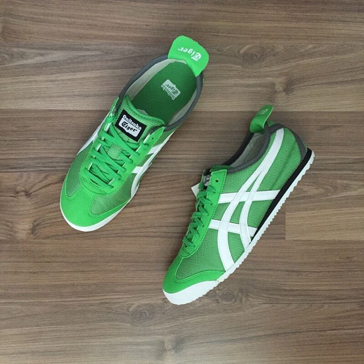 Onitsuka Tiger Mexico 66  Classic Green White  a84fc1676d5d