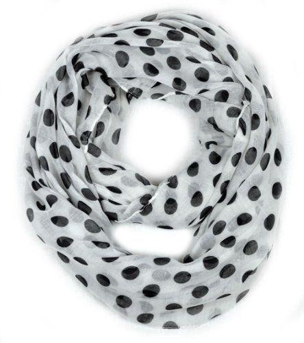 Infinity Circle Scarf Polka Dot Lightweight - White Dabung http://www.amazon.com/dp/B00IPPJ76U/ref=cm_sw_r_pi_dp_CpY-vb01FP400