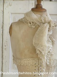 someday I hope to get an old dressform - they are exquisite