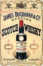 1899 UK - James Buchanan & Co magazine advert
