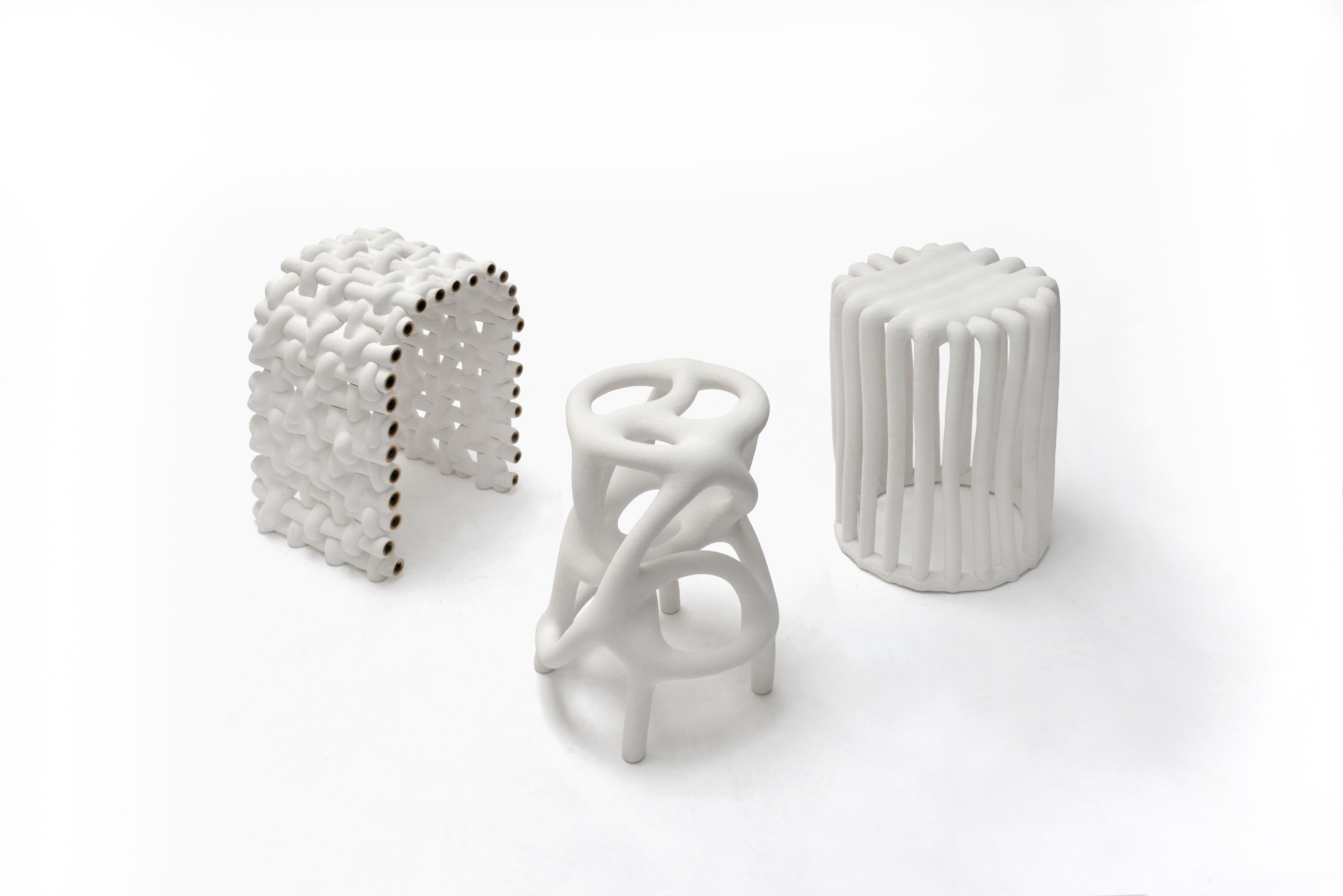Hot Wire Extensions: reusing waste nylon powder by Studio Ilio ...