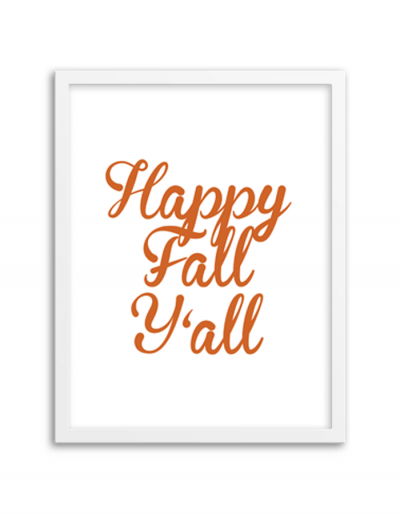 image relating to Happy Fall Yall Printable referred to as Content Slide Yall Artwork Print ✍✄Printables✄✍ Satisfied slide