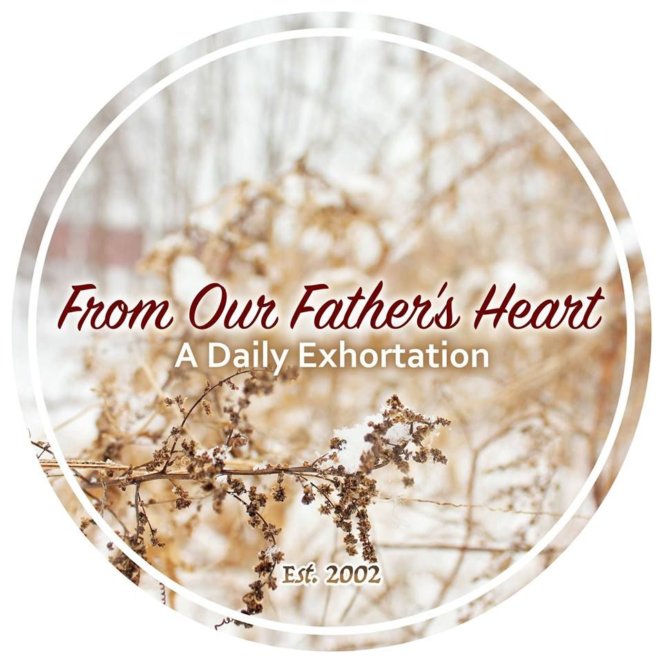 Our Blog  From Our Father's Heart   http://www.the101group.com/from-our-fathers-heart-blog/