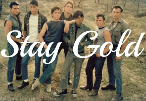 Stay Gold Ponyboy The Outsiders S E Hinton The Outsiders Outsiders Movie The Outsiders Quotes Listen to music from stay golden & the ponyboys like olive, sugarcane season & more. stay gold ponyboy the outsiders s e