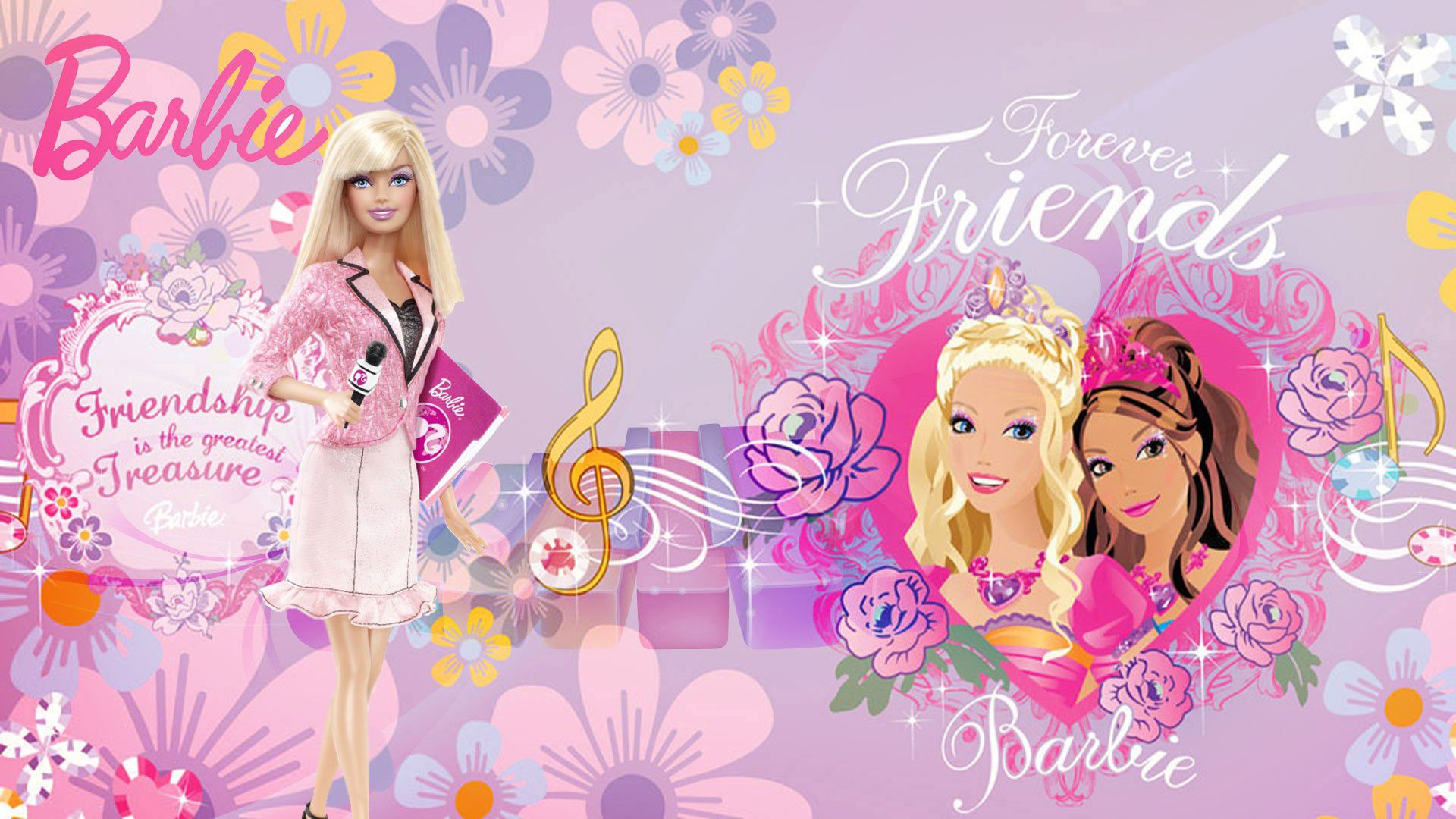 Barbie doll wallpapers gallery rocks wallpaper hd 1024 768 - Barbie pictures download free ...
