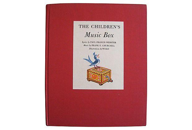 The Children's Music Box on OneKingsLane.com