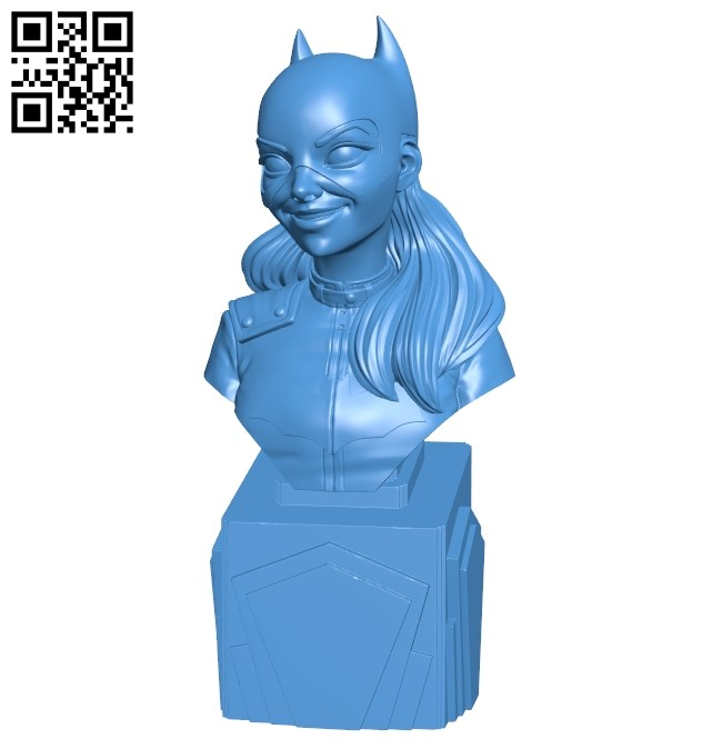 Female Cat person B005486 file stl free download 3D Model