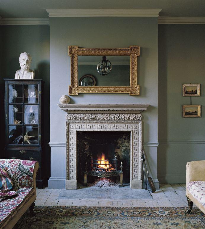 Stone Chimneypieces Vintage Fireplace Georgian